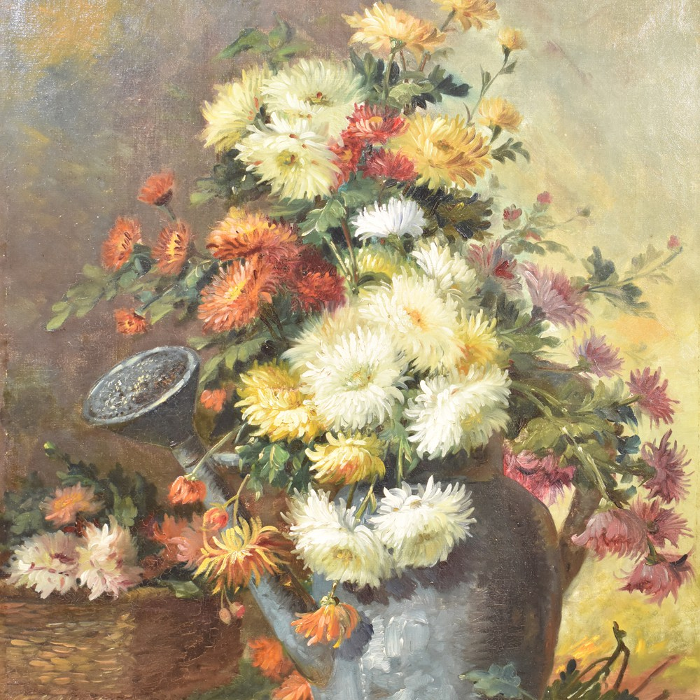 A flower painting floral oil painting oil painting oil on canvas 19th century.jpg