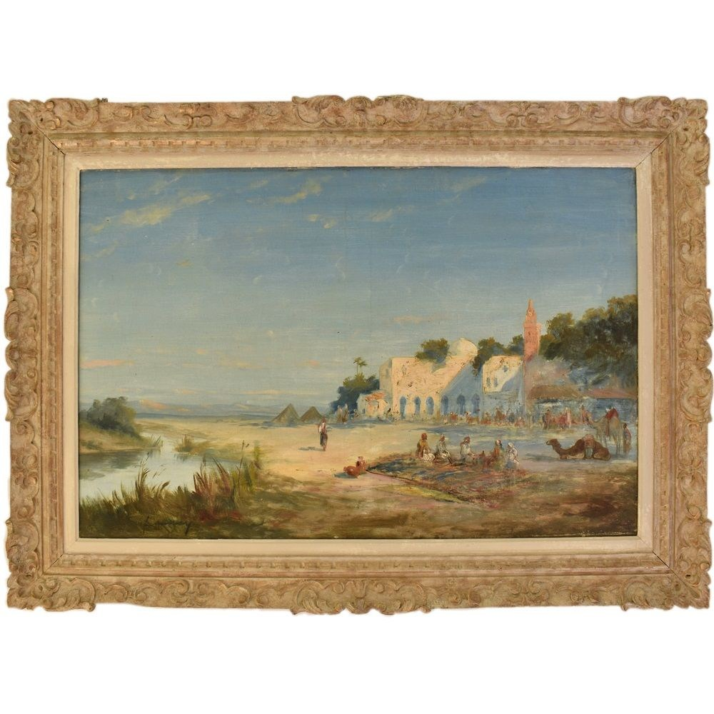 A orientalist landscape painting landscape art work oil painting gallery oil on canva 19th century.jpg