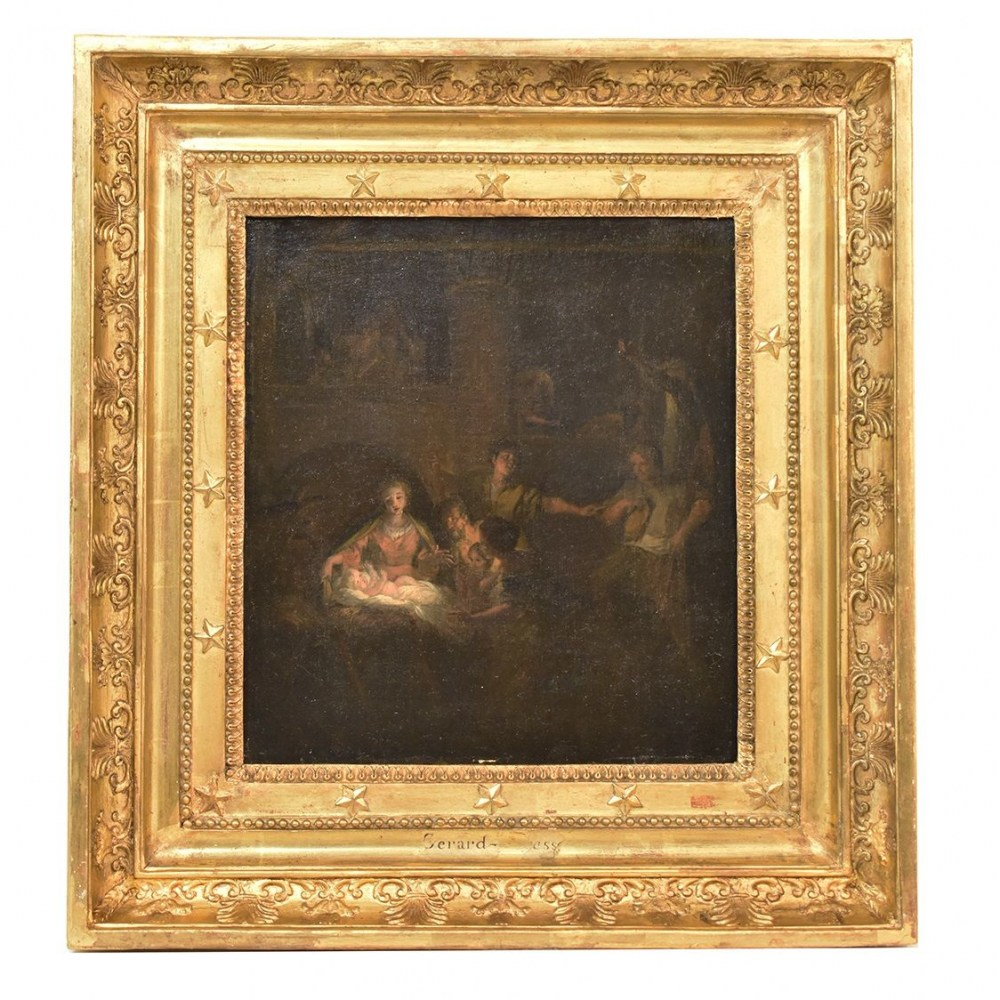 QREL316 antique painting christian painting on canvas religious oil paintings XVIII.jpg