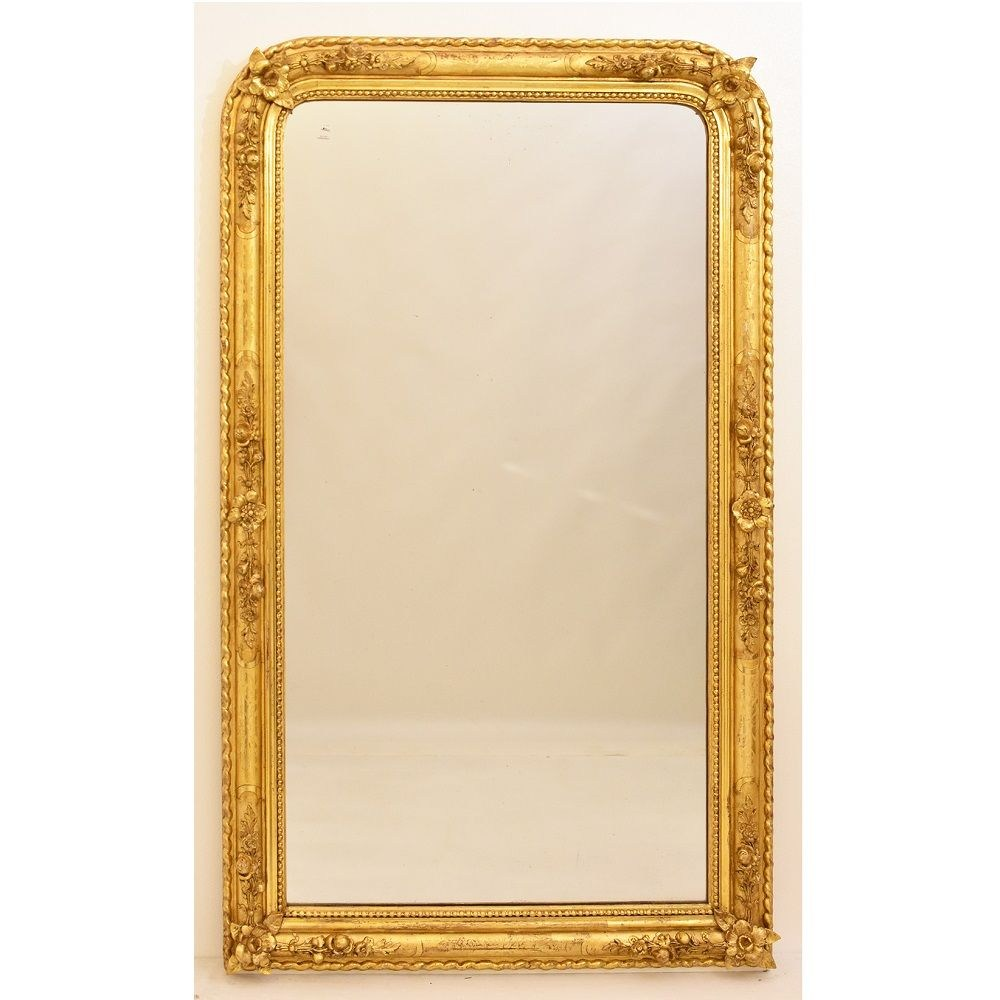 SP99 antiques mirror antique french mirror antique gilded mirror 19th century.jpg_1